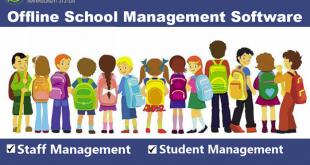Offline School Management Software