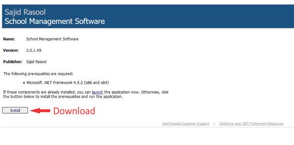 Pakistan school management software free download
