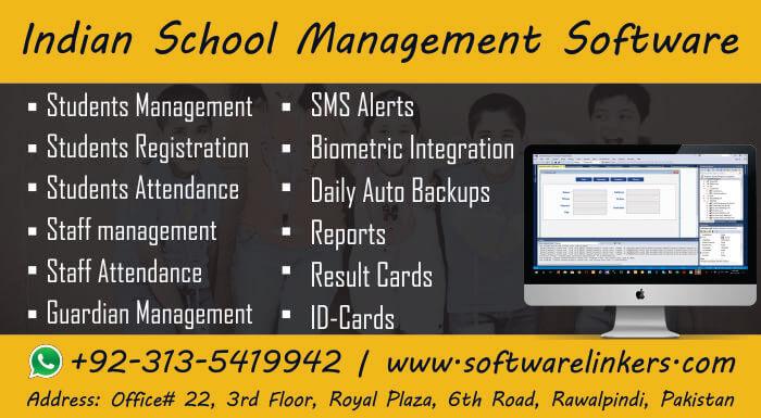 Indian school management software free download