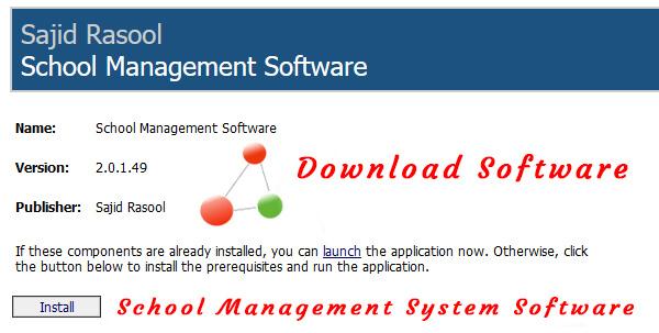 School management system software free download full version